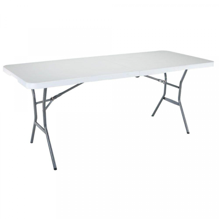 6 Ft White Folding Party / Wedding Tables